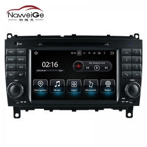 Car central multimedia for Benz CLK W209 Benz CLS W219