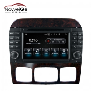 Car central multimedia for Benz S W220