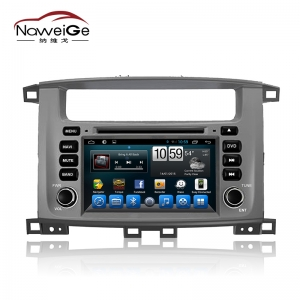 Car central multimedia for Toyota Land Cruiser 100