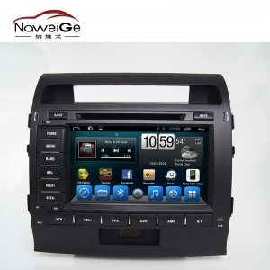 Car central multimedia for Toyota Land Cruiser 200