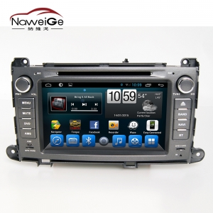 Car central multimedia for Toyota Sienna old