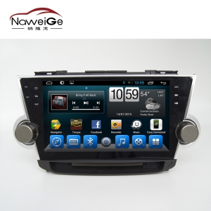 Car central multimedia for Toyota highlander  2012