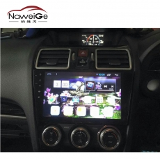 Car central multimedia for 15 Forester