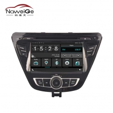 China Car central multimedia for HYUNDAI ELANTRA 2014 factory