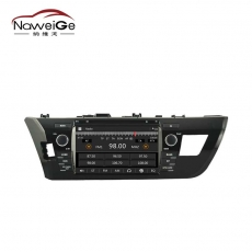 China Car dvd multimedia for TOYOTA COROLLA factory